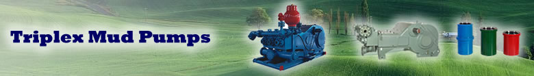 SDP-550 Triplex Mud Pump Supply
